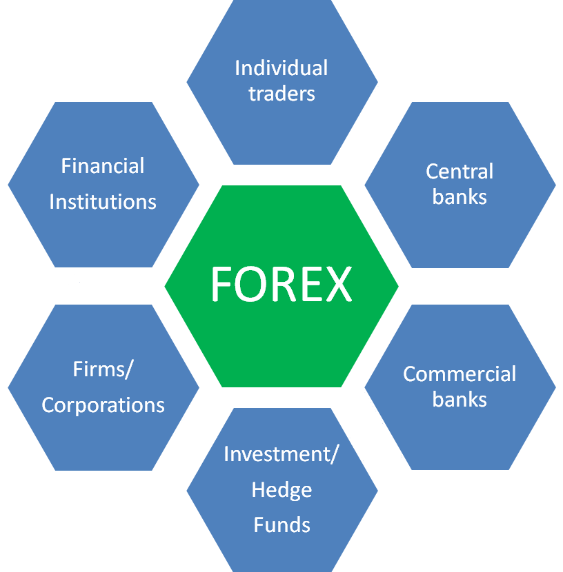 Key players in forex markets
