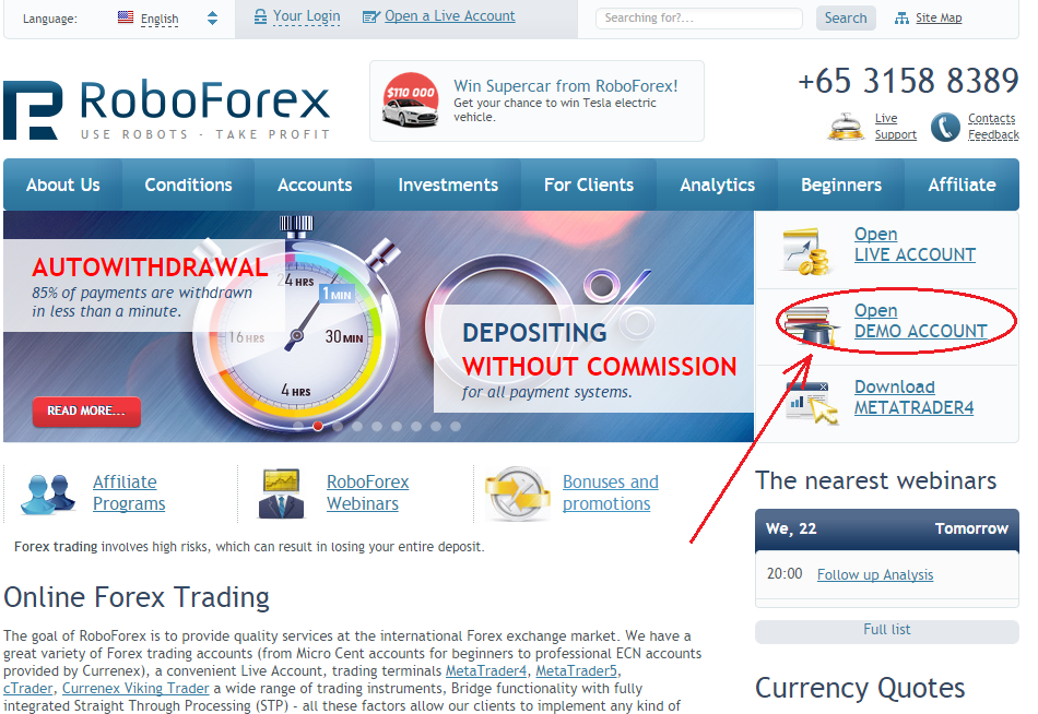 Easy forex demo login