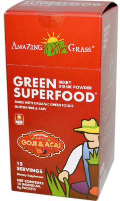 Superfoods in powdered form by Amazing Grass