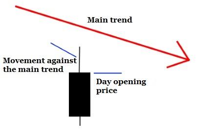FX1D0 candle Idea in a basis of trading system