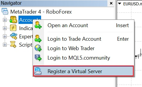 Built-in VPS in MT4 and MT5 | Forex Trader Portal